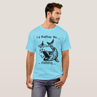 Camiseta A preferencialmente esteja pescando