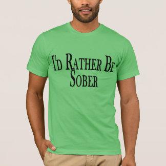 Camiseta A preferencialmente seja sóbrio