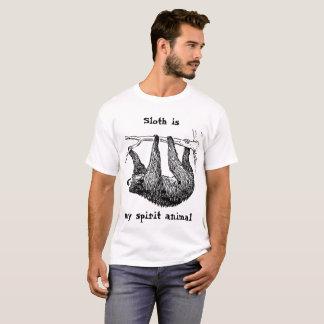 Camiseta A preguiça é meu espírito animal|| apenas não o