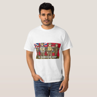 Camiseta A Primeira Guerra Mundial canadense do factor do