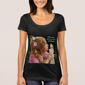 Camiseta A princesa Decisão - mantenha U ou lanç o t-shirt