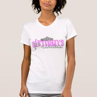 Camiseta A princesa do aviador