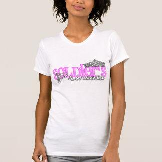 Camiseta A princesa do soldado