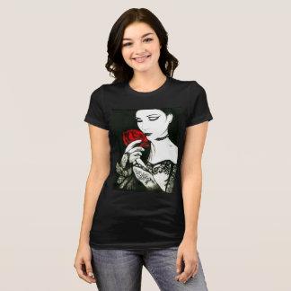 Camiseta A princesa gótico com aumentou
