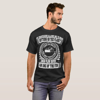Camiseta A profissão permite a qualquer coisa o Tshirt do