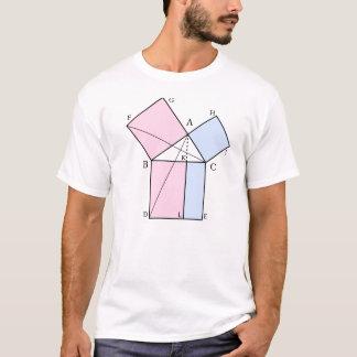 Camiseta A prova de Euclid o o teorema pitagórico