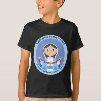 Camiseta A Pta preliminar católica de StMary