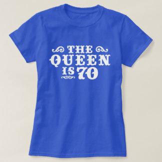 Camiseta A rainha é 70