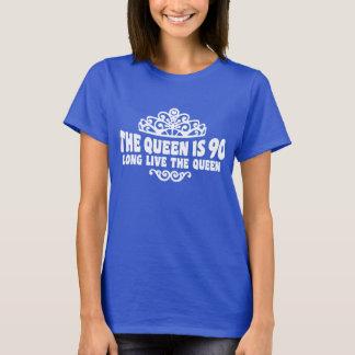 Camiseta A rainha é 90