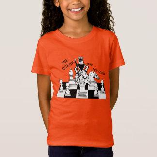 Camiseta A rainha e sua corte, t-shirt da juventude das