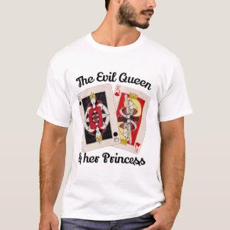 Camiseta A rainha má e sua princesa Tshirt
