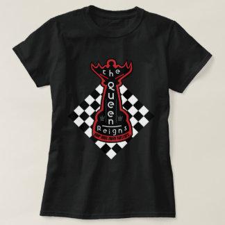 Camiseta A rainha reina xadrez