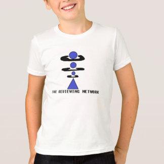 Camiseta A rede de revisão caçoa o t-shirt