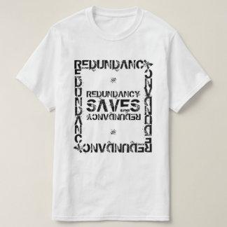 Camiseta A redundância salvar