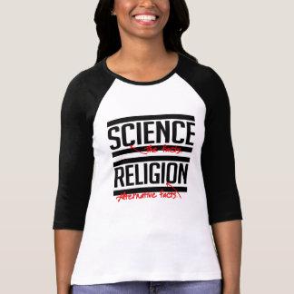 Camiseta A religião é um fato alternativo - - Pro-Ciência