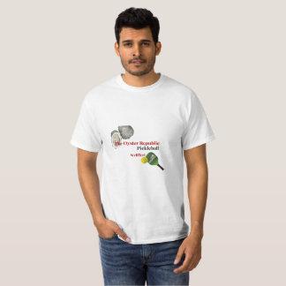 Camiseta A república Pickleball - Wellfleet da ostra