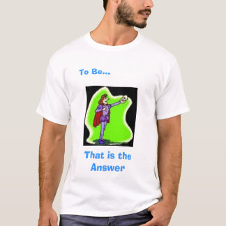 Camiseta A resposta