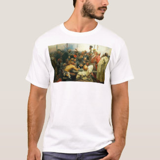 Camiseta A resposta dos Cossacks de Zaporozhian às mães da
