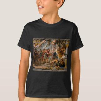 Camiseta A reunião de Abraham e de arte de Melchizedek