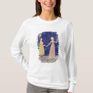 Camiseta A reunião de Dante e de Beatrice