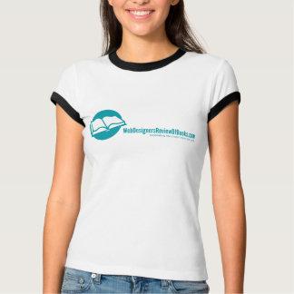 Camiseta A revisão dos desenhistas da Web dos livros T