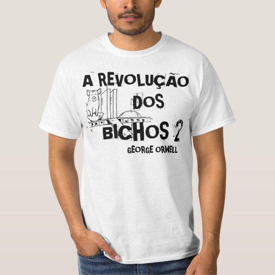 Camiseta A Revolução dos Bichos 2 - George Orwell