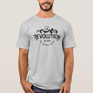 Camiseta A revolução é você - t-shirt básico - TSP