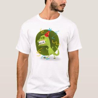 Camiseta A rocha de Dino - festa de aniversário do