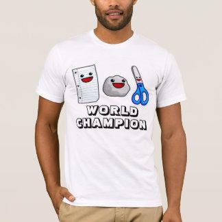 Camiseta A rocha de papel Yummy Scissors o t-shirt do