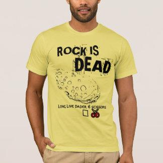 Camiseta a rocha está inoperante (vivem por muito tempo o