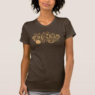 Camiseta A roda denteada é t-shirt inoperante das senhoras