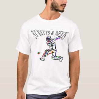 Camiseta A rua Kitts e Nevis embandeira o tshirt do grilo