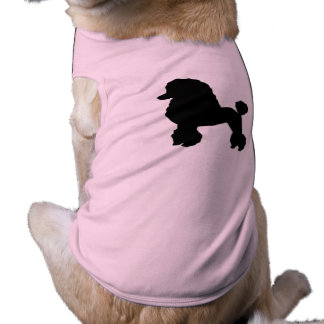 Camiseta a saia cor-de-rosa da caniche dos anos 50 inspirou