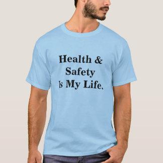Camiseta A saúde e a segurança são minhas citações