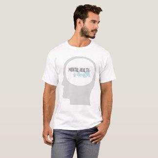 Camiseta A saúde mental é t-shirt da saúde
