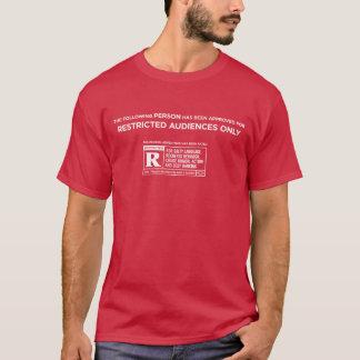 Camiseta A seguinte pessoa foi R avaliado (DE LUXE)