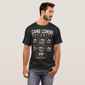 Camiseta A segurança do cão de Corso do bastão Pets a