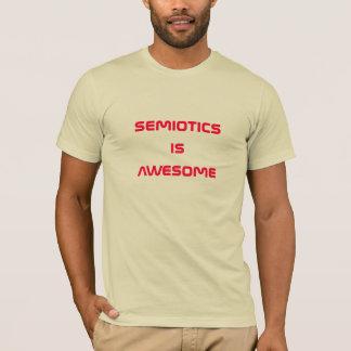Camiseta a semiótica é impressionante