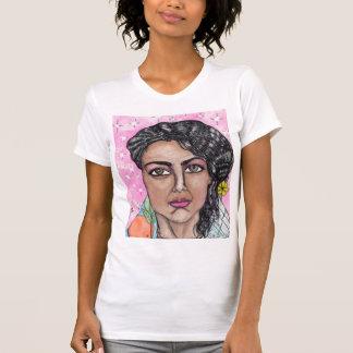 Camiseta a senhora da fruta e das flores