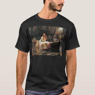 Camiseta A senhora de Shalott por John William Waterhouse