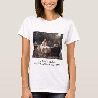 Camiseta A senhora do t-shirt do Shallot