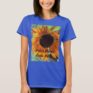 Camiseta A Senhora Paris Plains o CHURRASCO dos amores