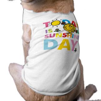 Camiseta A senhorita pequena Luz do sol | é hoje um dia da