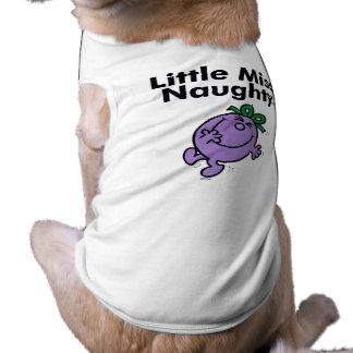 Camiseta A senhorita pequena pequena Impertinente da