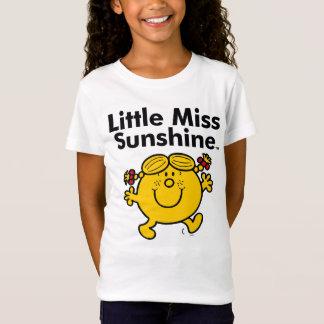 Camiseta A senhorita pequena pequena Luz do sol da