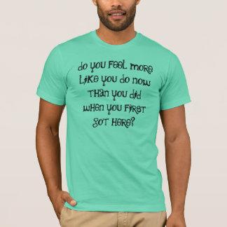 """Camiseta A """"sensação mais"""" t-shirt"""