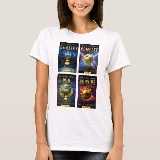 Camiseta A série do Grail de Atlantis - 4-Cover - t-shirt