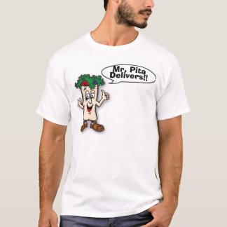 Camiseta a seta, Sr. Pão árabe, entrega!!