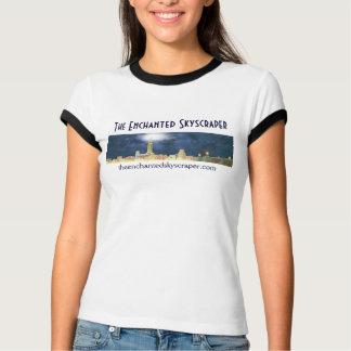 Camiseta A skyline Enchanted do arranha-céus - curto