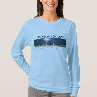 Camiseta A skyline Enchanted do arranha-céus - senhoras